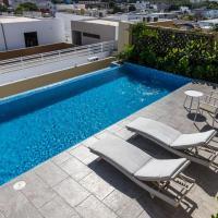 308 · Penthouse equipado. Roofgarden y alberca privada!