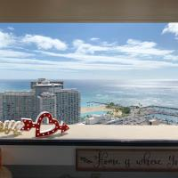 Studio Apartment with Great View in Waikiki
