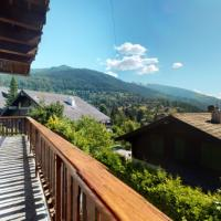 Spacious chalet in Vercorin, overlooking the Rhone Valley