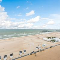 Seaview apartment for 2 in Ostend