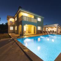 Villa Green and Blue