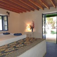 Exclusive apartment in Ecovilla on the beach, hotel in Apolakkiá