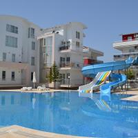 Antalya belek nirvana club 1 first floor 2 bedrooms pool view with water slide close to center