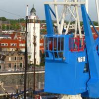 Havenkraan van Harlingen