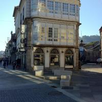 Hotel Pinzon, hotel en Baiona