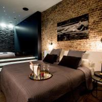chambre avec jacuzzi sauna privatif