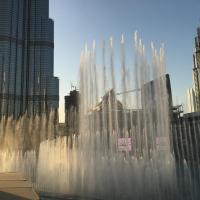 Downtown Souk Al Bahar Apartment with Full Fountain and Burj Khalifa Views