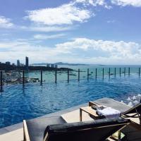Pattaya Beach Sea View Rooftop Pool Resort