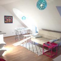 Studio Ochsenfurt mit sonnigem Balkon