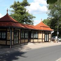 Pavillon an der Ilm