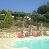 Cosy house with guest house and pool in Tourtour