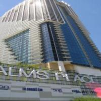 Palms Place 50th floor with balcony & strip view