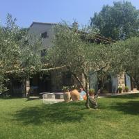Casale di campagna tra gli ulivi