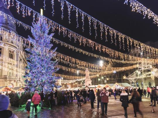 Pięć najlepszych jarmarków świątecznych dla rodzin