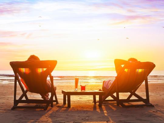 Spiagge romantiche e relax totale per coppie