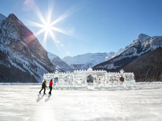 The World's Best Outdoor Ice Rinks