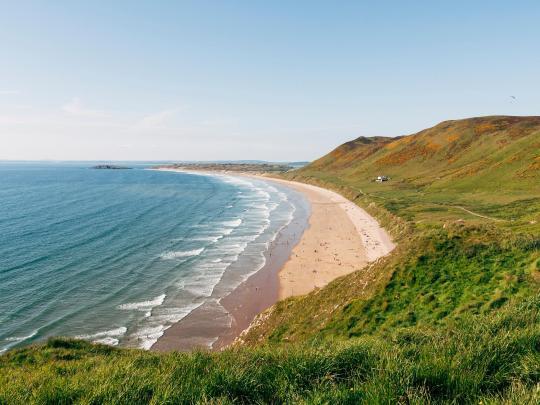De 7 mest eksotiske strendene i Storbritannia
