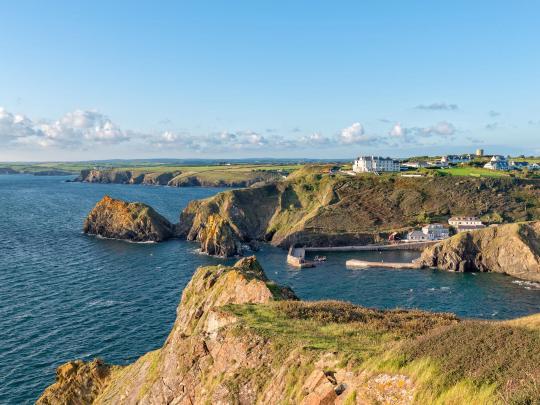 5 af Europas smukkeste vandreture ved kysten