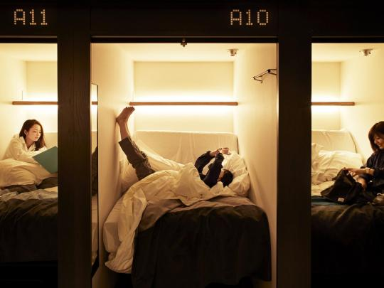 10 Design Capsule Hotels and Hostels