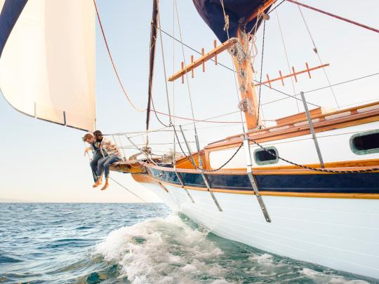5 สุดยอดจุดหมายสำหรับแล่นเรือใบ