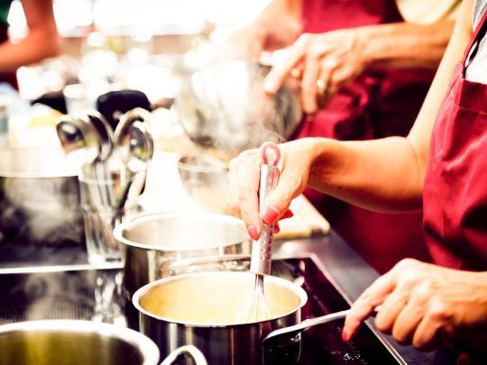 Destinos para aprender a cocinar