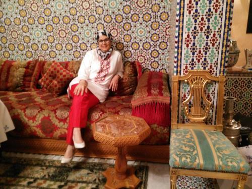 Fatema El Majdoubi Owner Riad