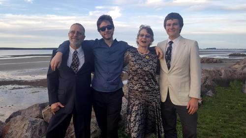 Colin, Richard, Claire and Conrad