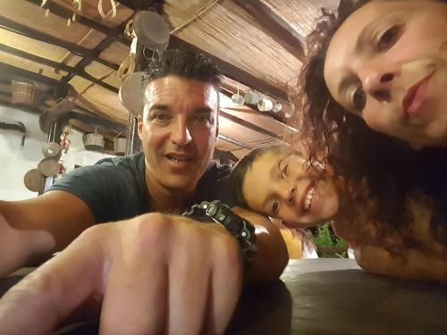 Lorenzo,Stefania e Matteo (it's me, my wife and my son)