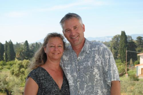The owners Matthias and Irene Winkler