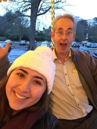 Jon and older daughter Madeleine