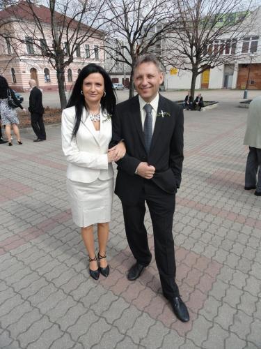 Martina and Vaclav Svoboda