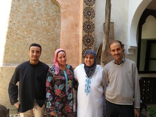 Mustafa, Zohra and Hassanya
