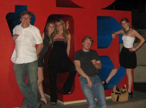 The Buillet Family (Philippe, Janet, Jean, Rachel, Allegra)