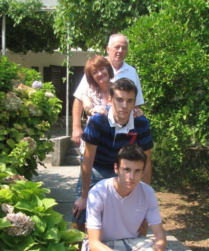Danilo, Petar, Marina i Milivoje Marković
