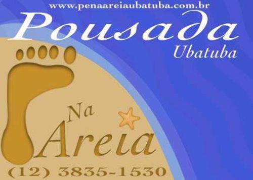 Logo Marca Pé na Areia Ubatuba