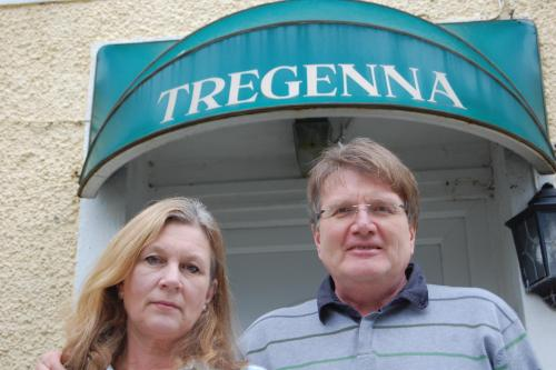 Louise and Mark Rickman, Owners of Tregenna