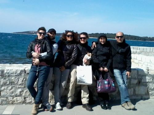 *Tim La Casa di Loreto*  Maja,Gabriele,Aphra,Leo,Marina&Siniša