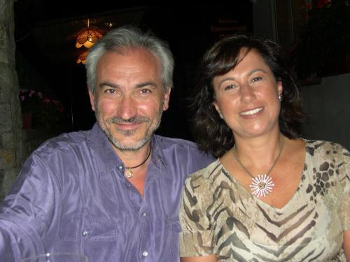 I and my wife Rosanna