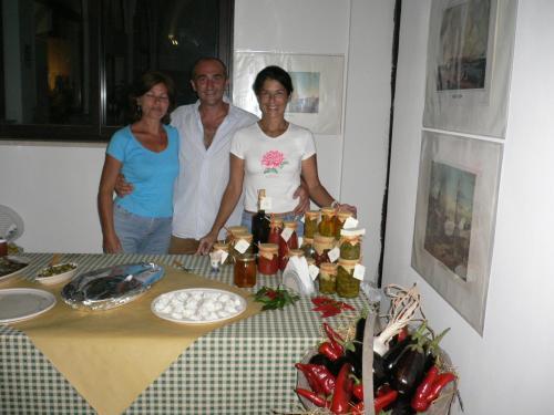 Luciana, Maria e Danilo