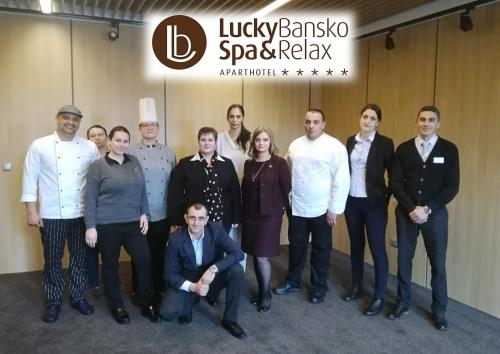 Managers of Lucky Bansko Aparthotel