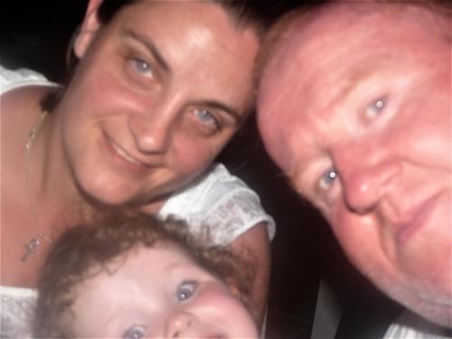 Aidan, Annemarie and little Aine