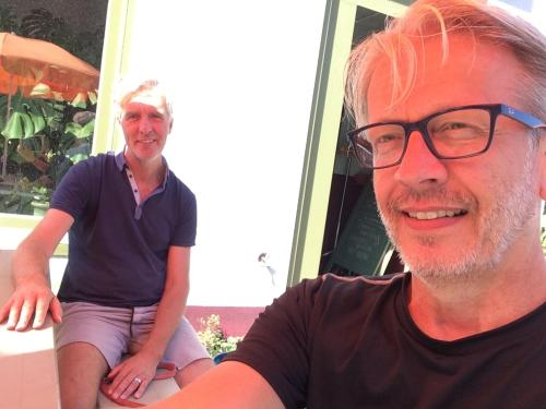 Sjoerd en Wouter