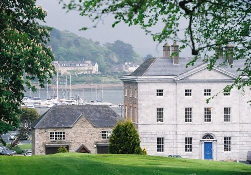 Crosshaven House, facing Cork Harbour and Crosshaven Marina and Yacht Club