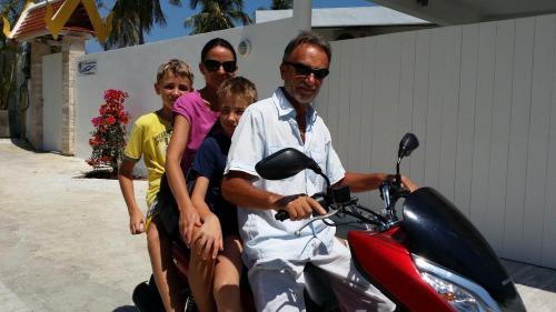 Bojan and family