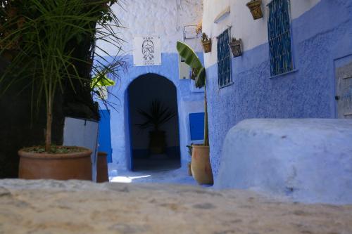 entrée Usha Guest House