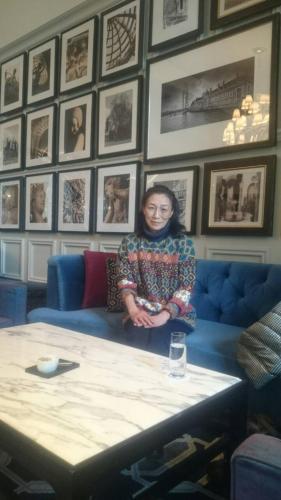 Livecafe ひすいの海。オーナー。Keiko Machizawa