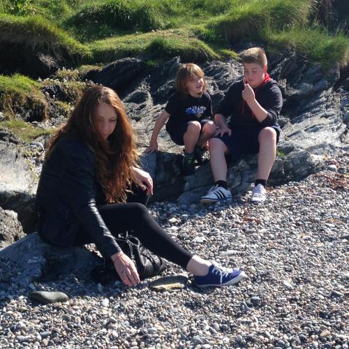 Philippa, Carter and Logan