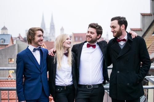 Benedikt, Editha, Daniel, Marc