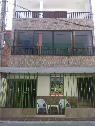 Fachada del edificio Hostel V&A