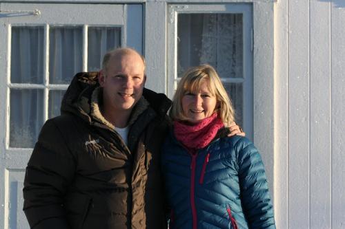 Rob and Betty van Kruining